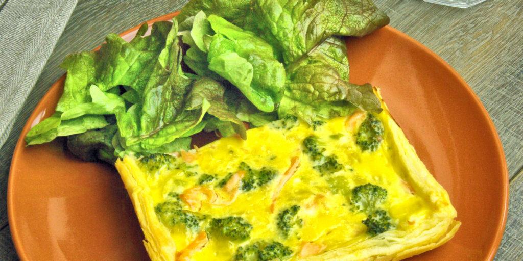 Quiche Saumon Brocoli Salmon Broccoli Quiche