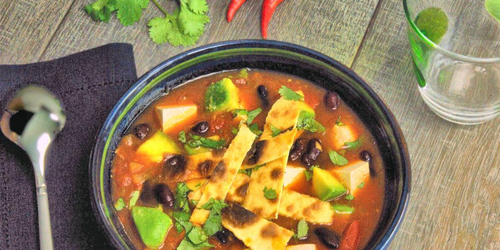 Soupe Tortillas Mexicaine Mexican Tortillas Soup