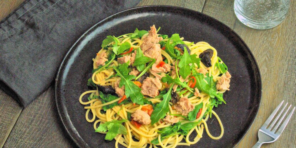 Spaghetti Thon Roquette Tuna Rocket Spaghetti