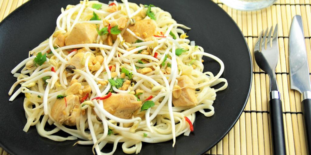 Pad Thai Poulet Chicken Pad Thai