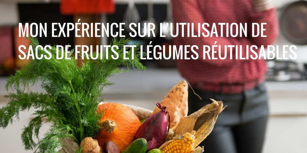 Sacs De Fruits Et Legumes Reutilisables LONG