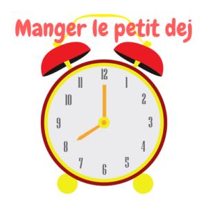 Manger Le Petit Dej