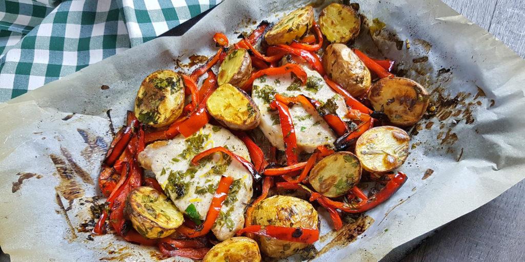 Côtes Porc Herbes Citron Lemon Herb Porc Chops