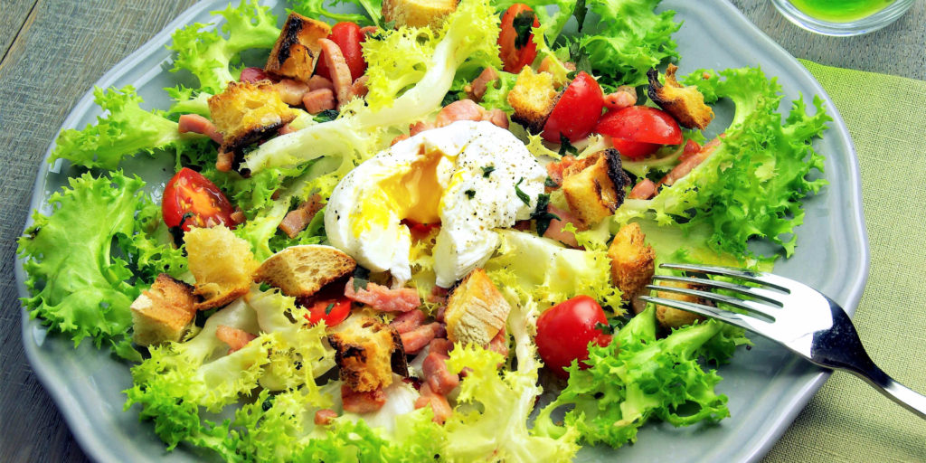 Salade Lyonnaise Lyonnaise Salad