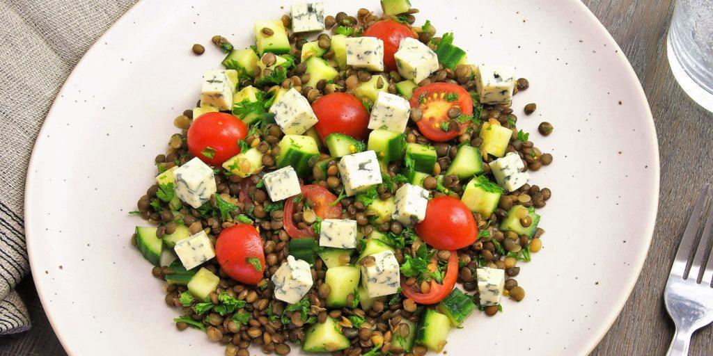 Salade Lentilles Auvergnate Auvergne Lentil Salad
