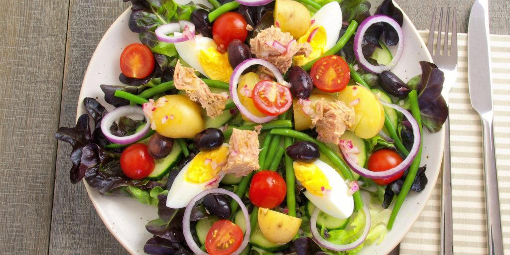 Salade Niçoise Nicoise Salad