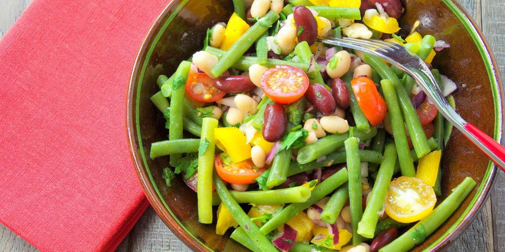 Salade Trois Haricots Three Beans Salad