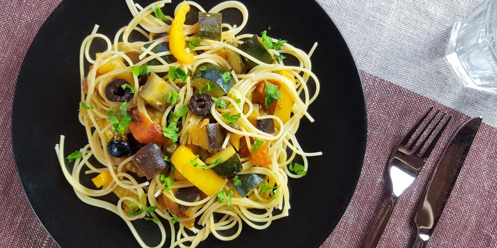 Spaghettis Sicilienne Sicilian Spaghettis