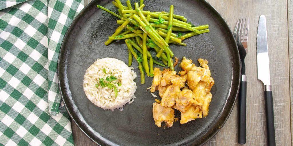 Poulet Vietnamien Citronnelle Lemongrass Vietnamese Chicken