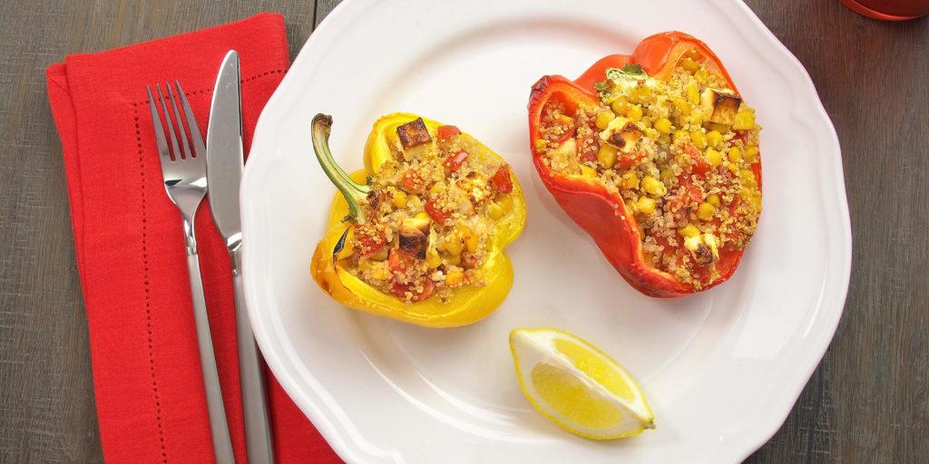 Poivrons Farcis Quinoa Stuffed Pepper Quinoa