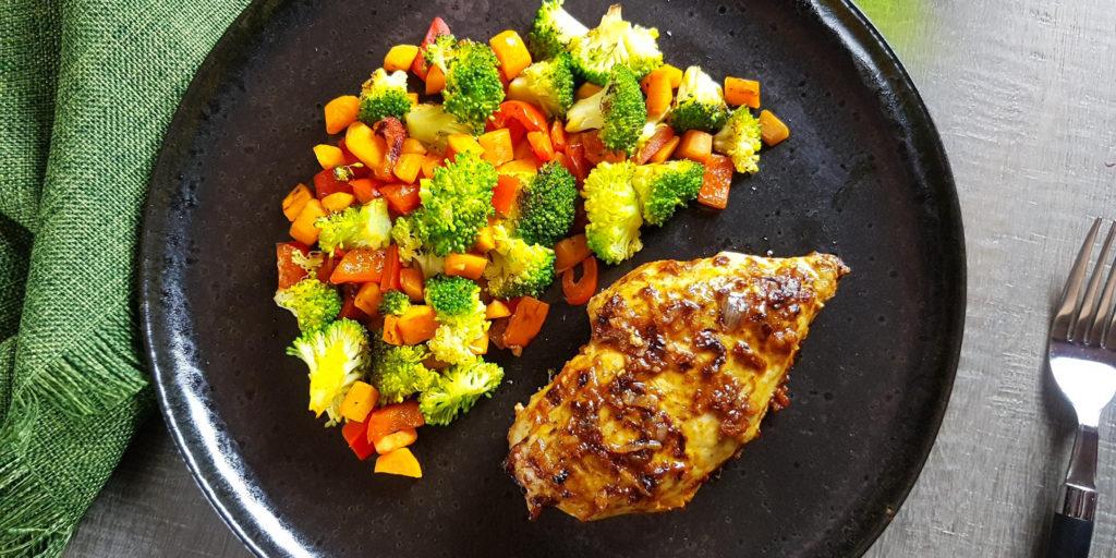 Poulet Épicé Paprika Sauté Légumes Paprika Chicken Sauté Vegetables