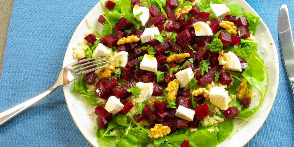 Salade Couscous Betterave Couscous Beetroot Salad