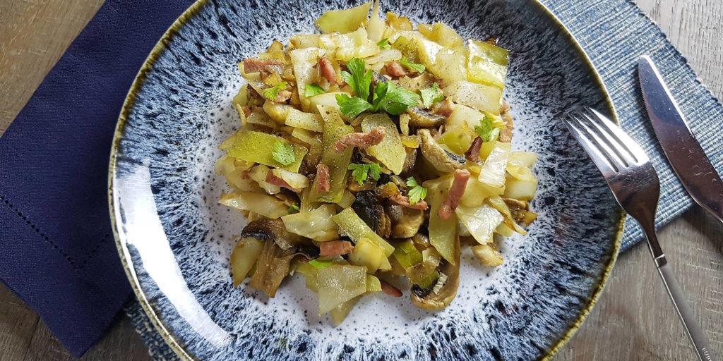 Mijoté Chou Blanc White Cabbage Stew