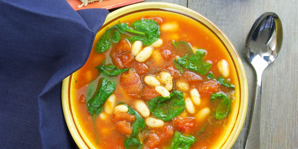 Soupe Haricots Tomate Beans Tomato Soup