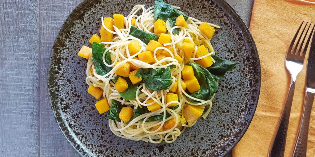 Spaghettis Légumes Automne Automn Vegetable Spaghetti