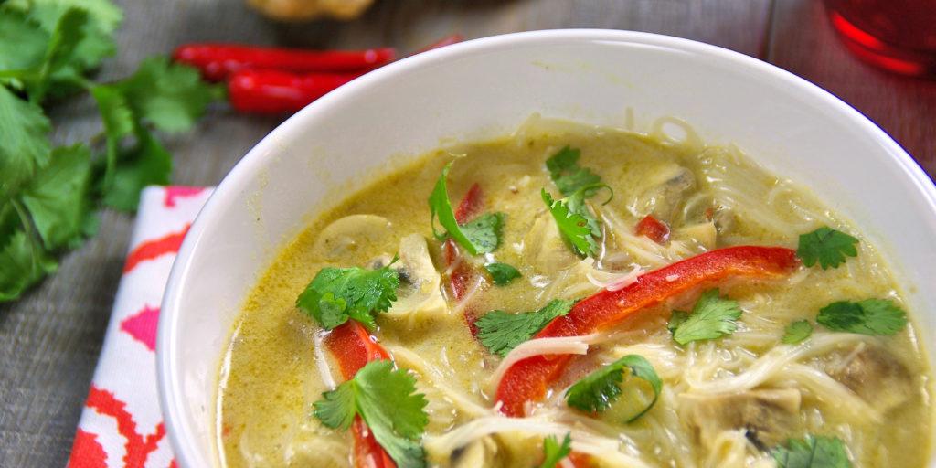 Soupe Légumes Curry Thai Thai Vegetable Soup