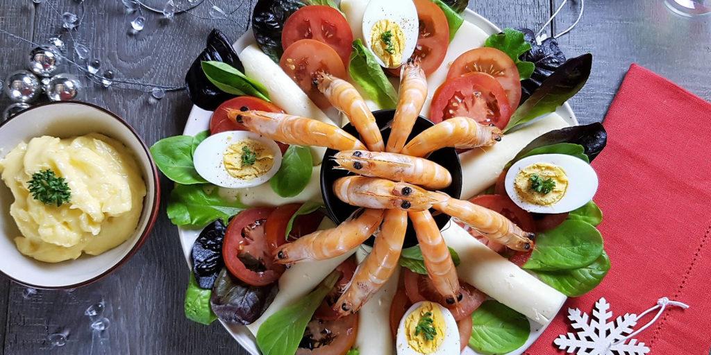 Crevettes Fête Party Prawns