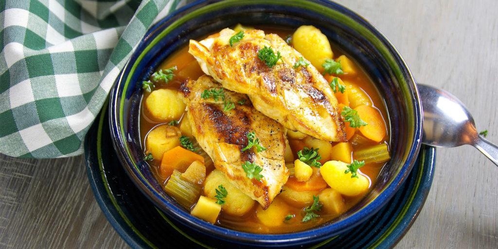 Soupe Poulet Toscane Tuscany Chicken Soup