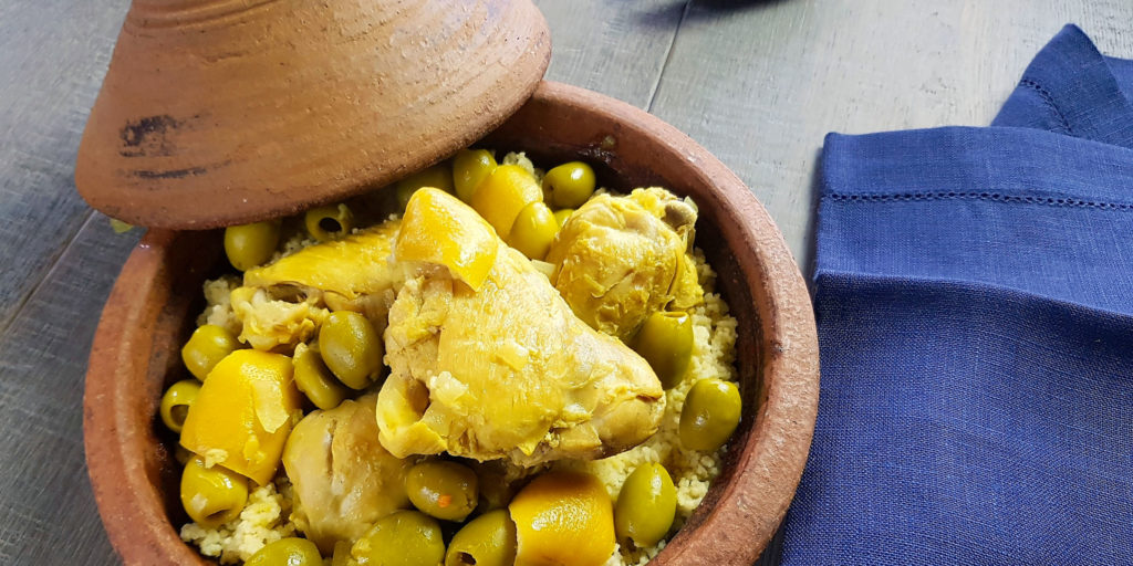 Tajine Poulet Olives Citron Lemon Olives Chicken Tajine